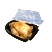 Carton de 100 coques poulet modèle M 1400 ml